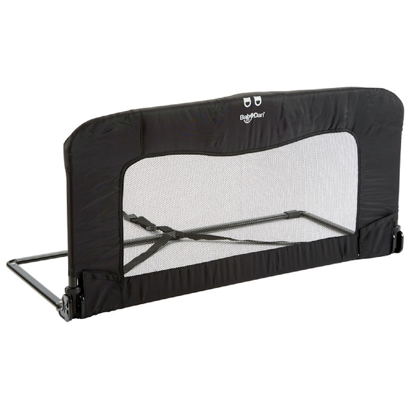 NEW BABYDAN BLACK FOLDING BED RAIL SAFETY GUARD TO FIT JUNIOR /& TODDLER BEDS