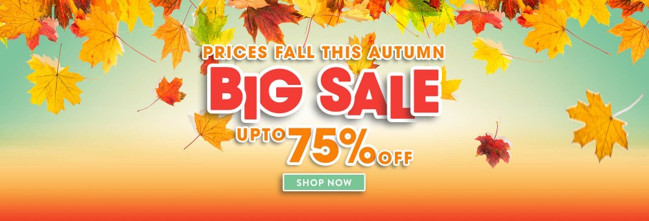 Autumn Big Sale 2018
