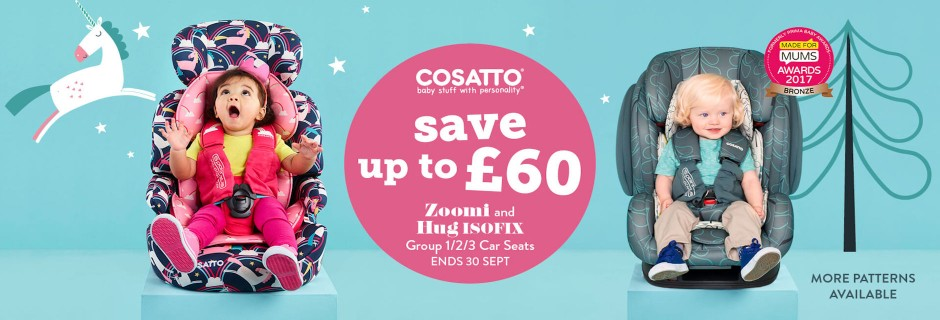 Cosatto Zoomi Group 123 Car Seat