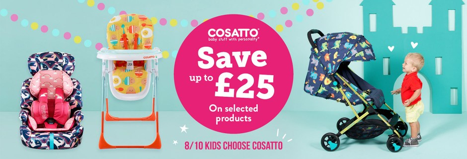 Cosatto March 2018 Offer