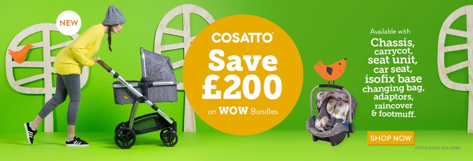Cosatto April Offer