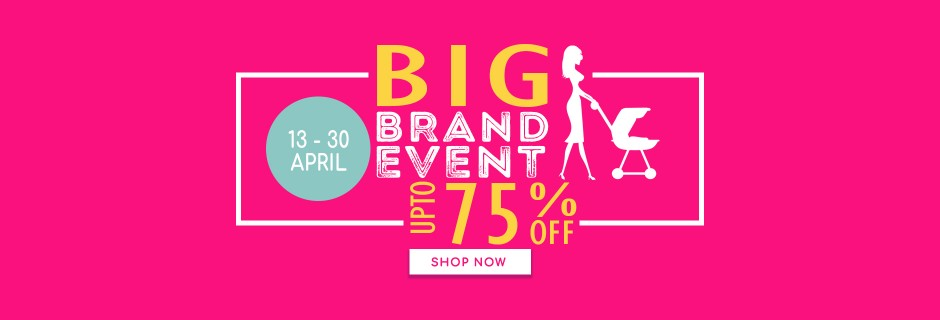 Big Brand Event - upto 80% off