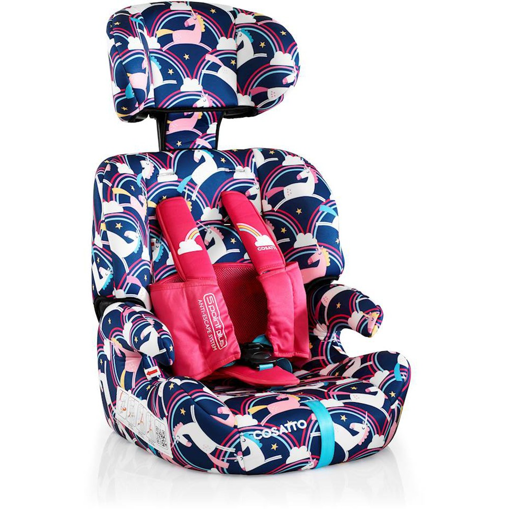 Cosatto Zoomi Group 123 Car Seat - Magic Unicorns | Buy at Online4baby