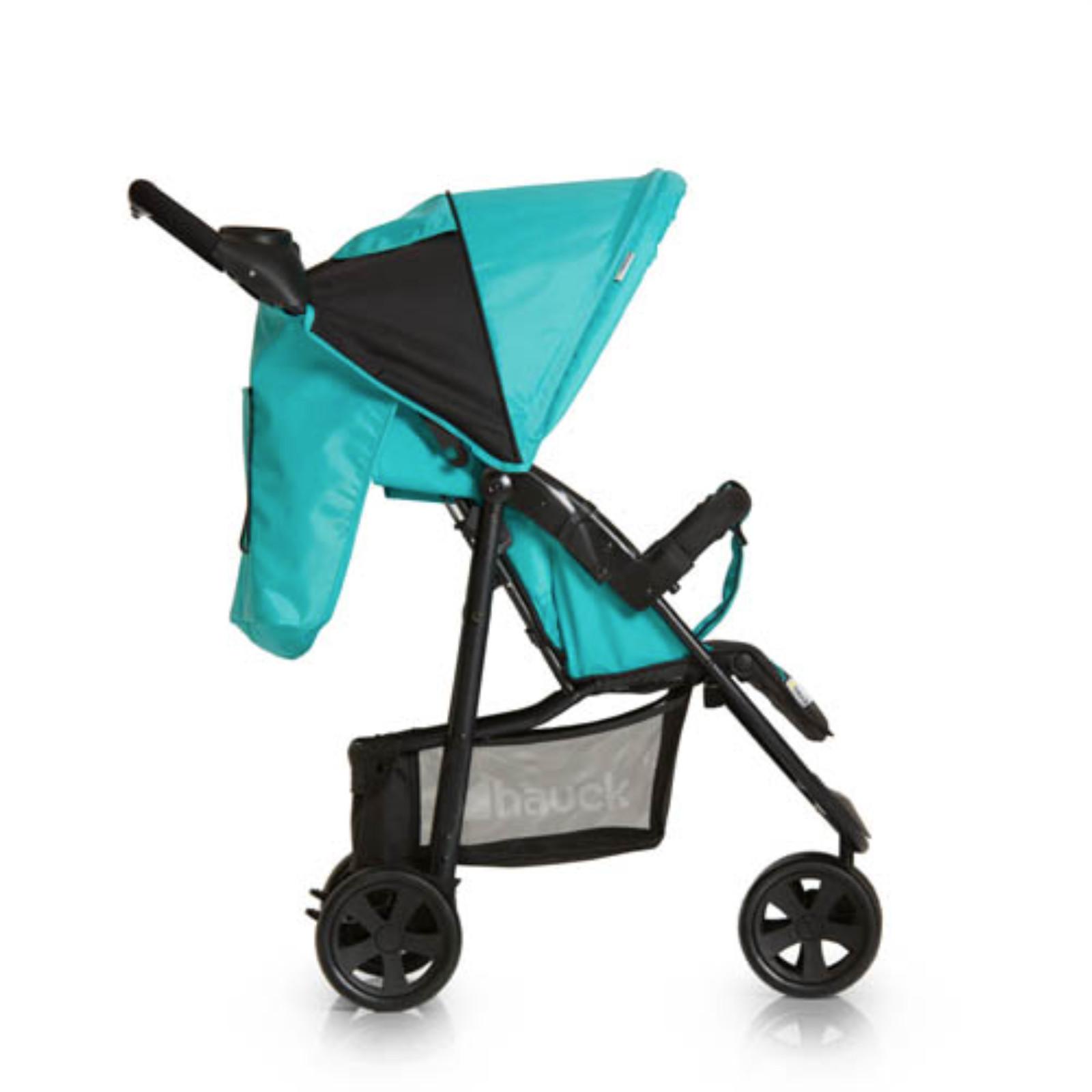hauck citi neo ii stroller pushchair caviar aqua. Black Bedroom Furniture Sets. Home Design Ideas