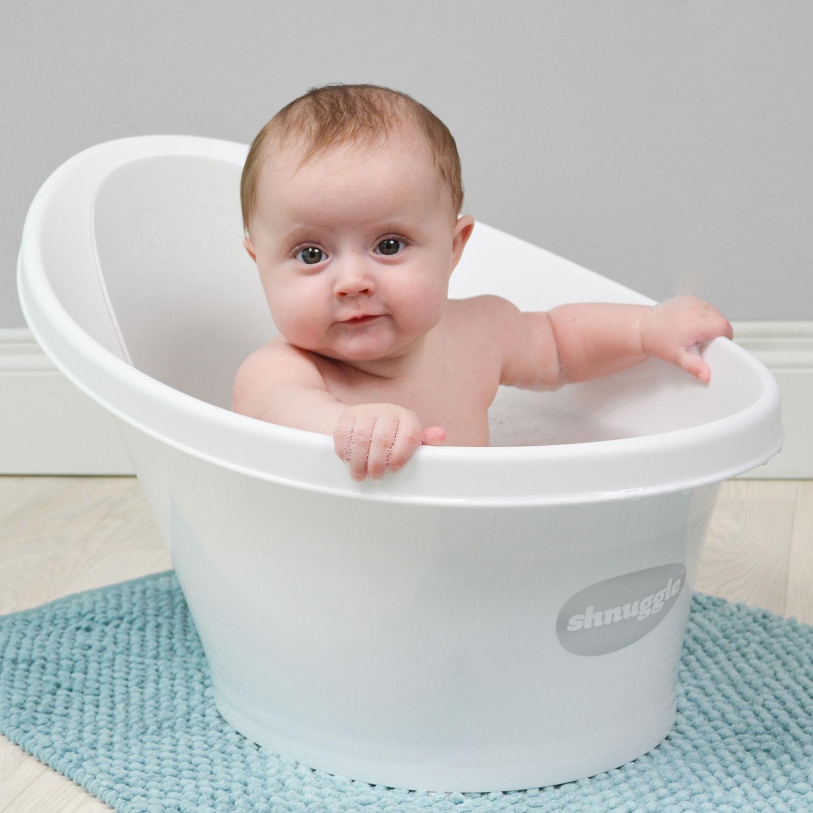 Shnuggle Baby Bath - Grey | Buy at Online4baby