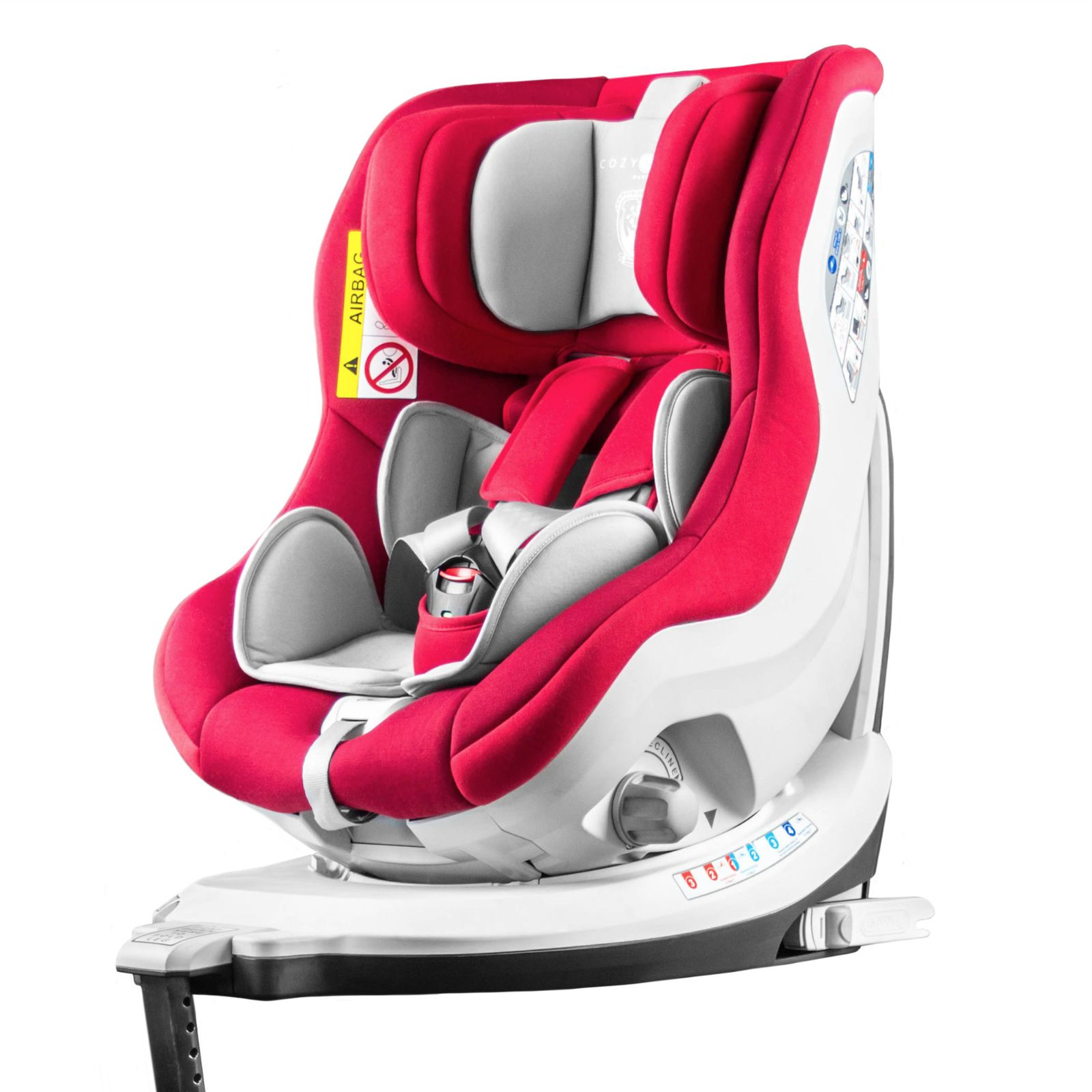 Cozy N Safe Merlin 360 Group 0 1 Isofix Car Seat