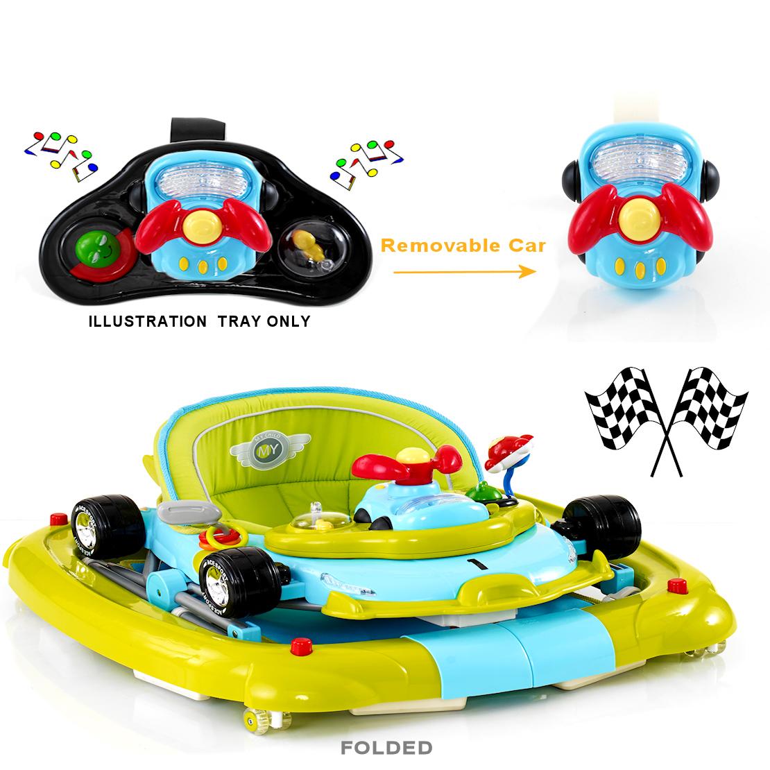 New My Child Ace Sport F1 3 In 1 Car Walker Rocker Go Go