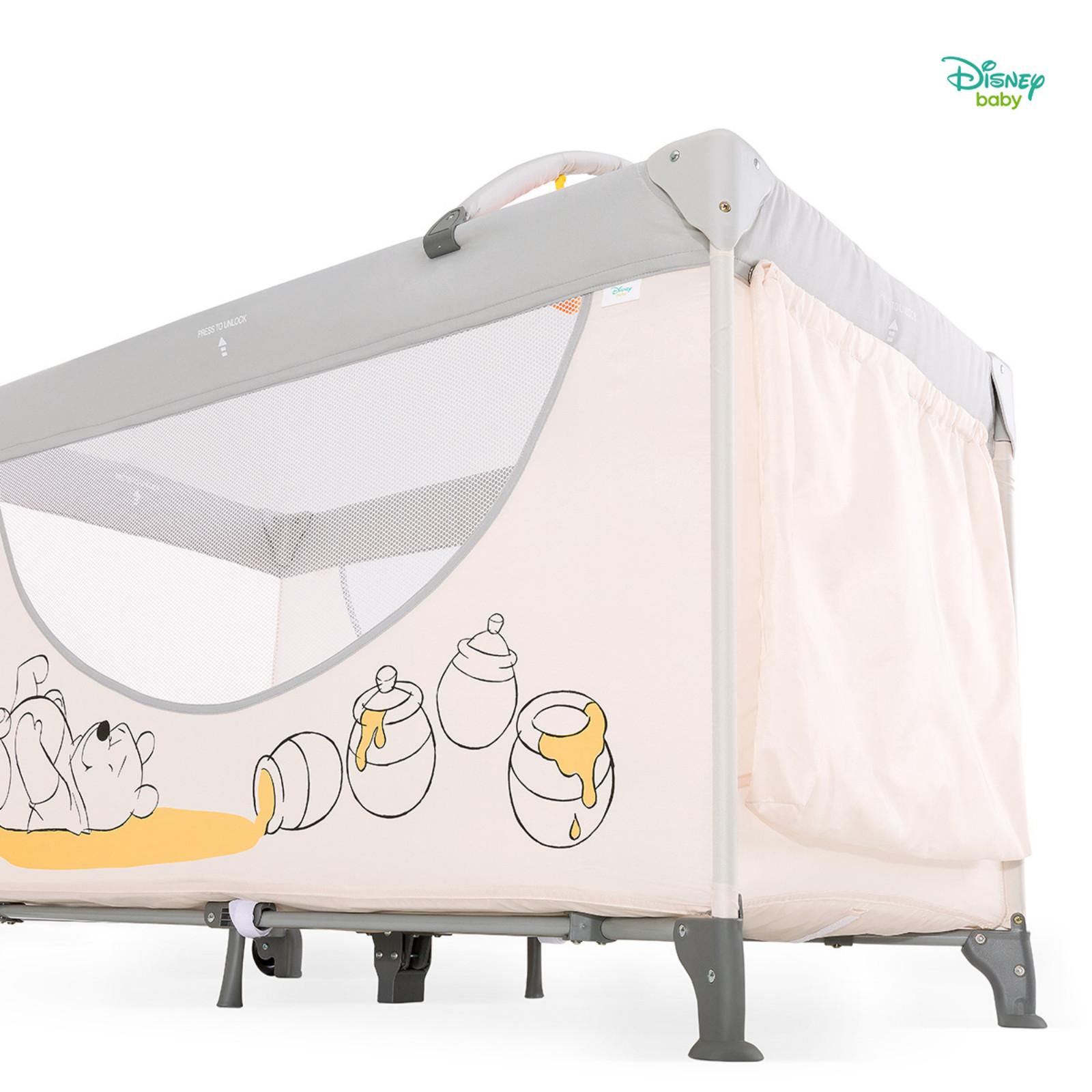 Hauck Disney Dream N Play Go Travel Cot Pooh Cuddles