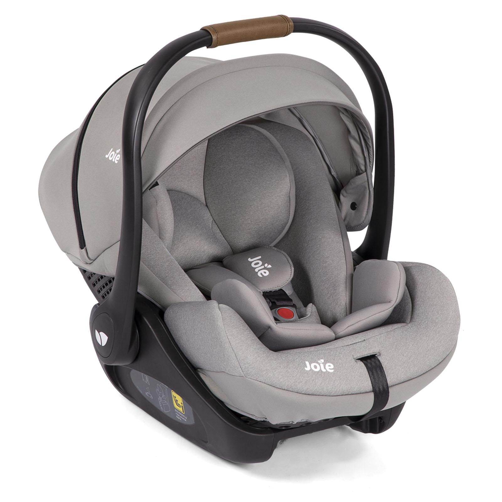 Joie i-Level (i-Size) 0+ Car Seat & ISOFIX Base - Grey ...