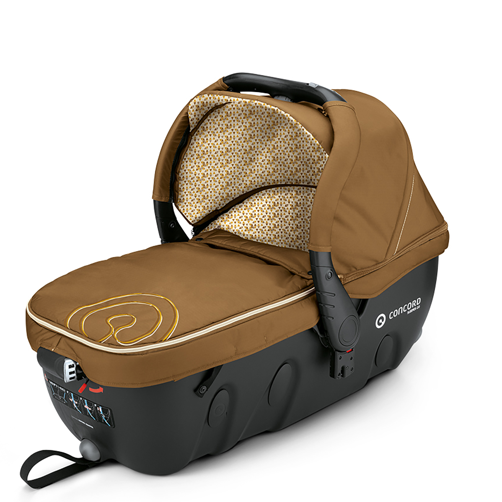 Concord Wander Travel System Pram Car Seat In