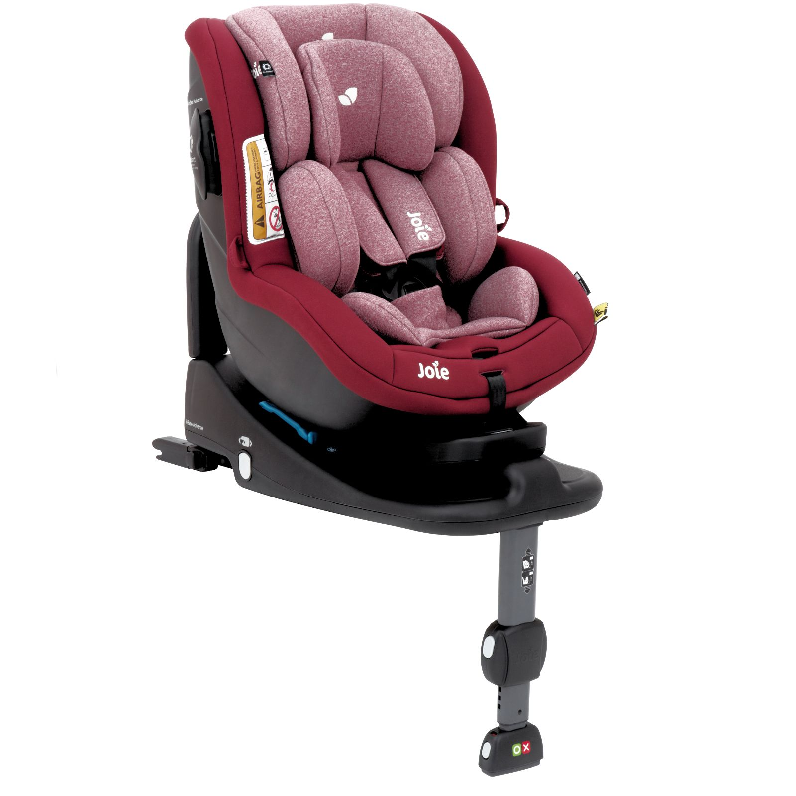 joie i anchor advance merlot group 0 1 car seat with i anchorfix base ebay. Black Bedroom Furniture Sets. Home Design Ideas