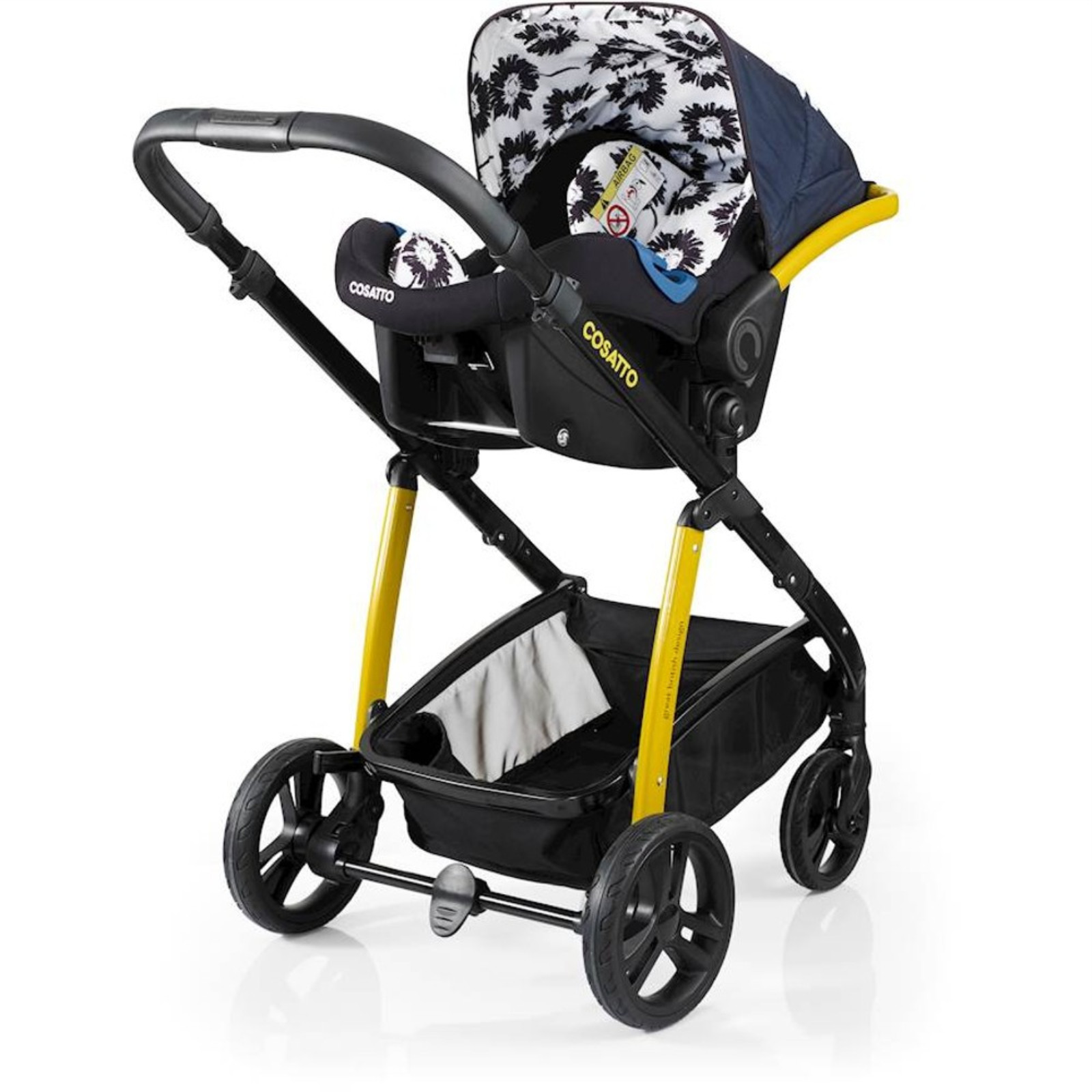 a6025b224733 Cosatto Wow 3 in 1 Combi Travel System With Accessories - Sunburst. Cosatto   Watch Video