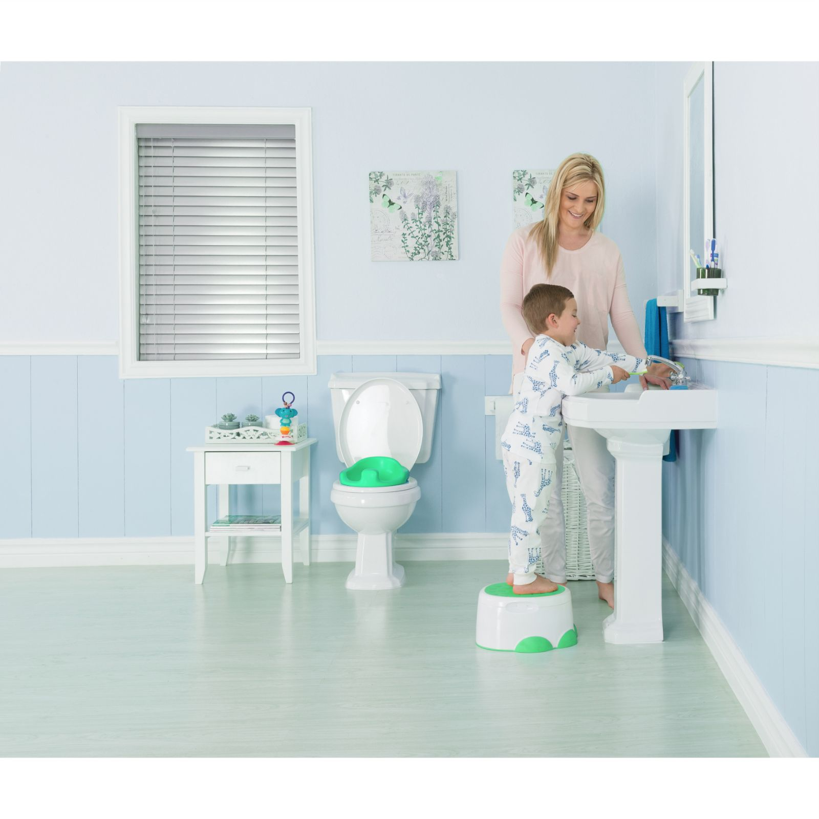 Bumbo 3-in-1 Step \'N Potty - Aqua | Buy at Online4baby
