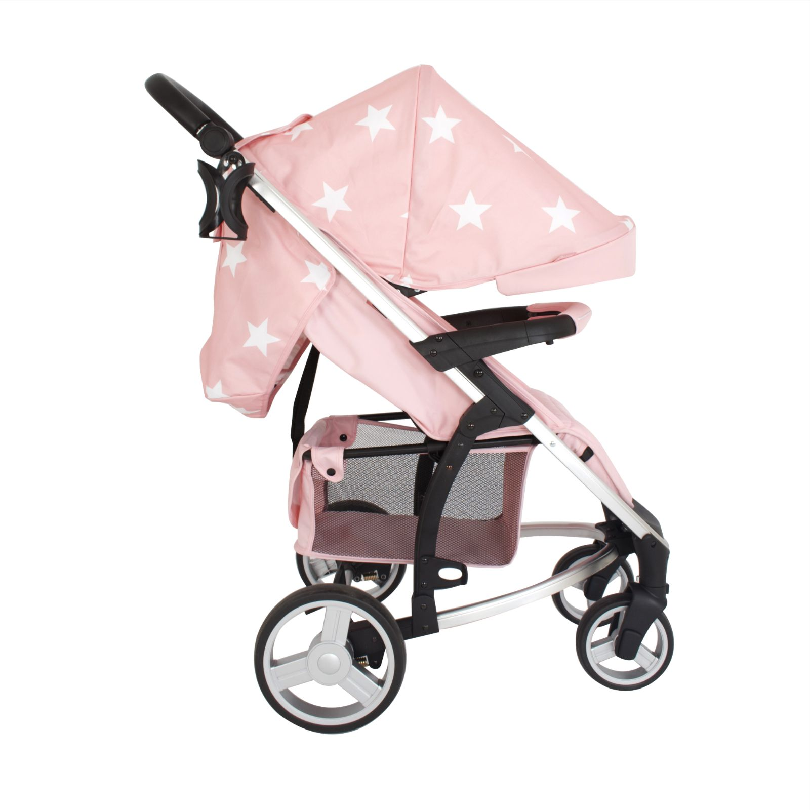 My Babiie Mb200 Travel System Amp Carrycot Pink Stars
