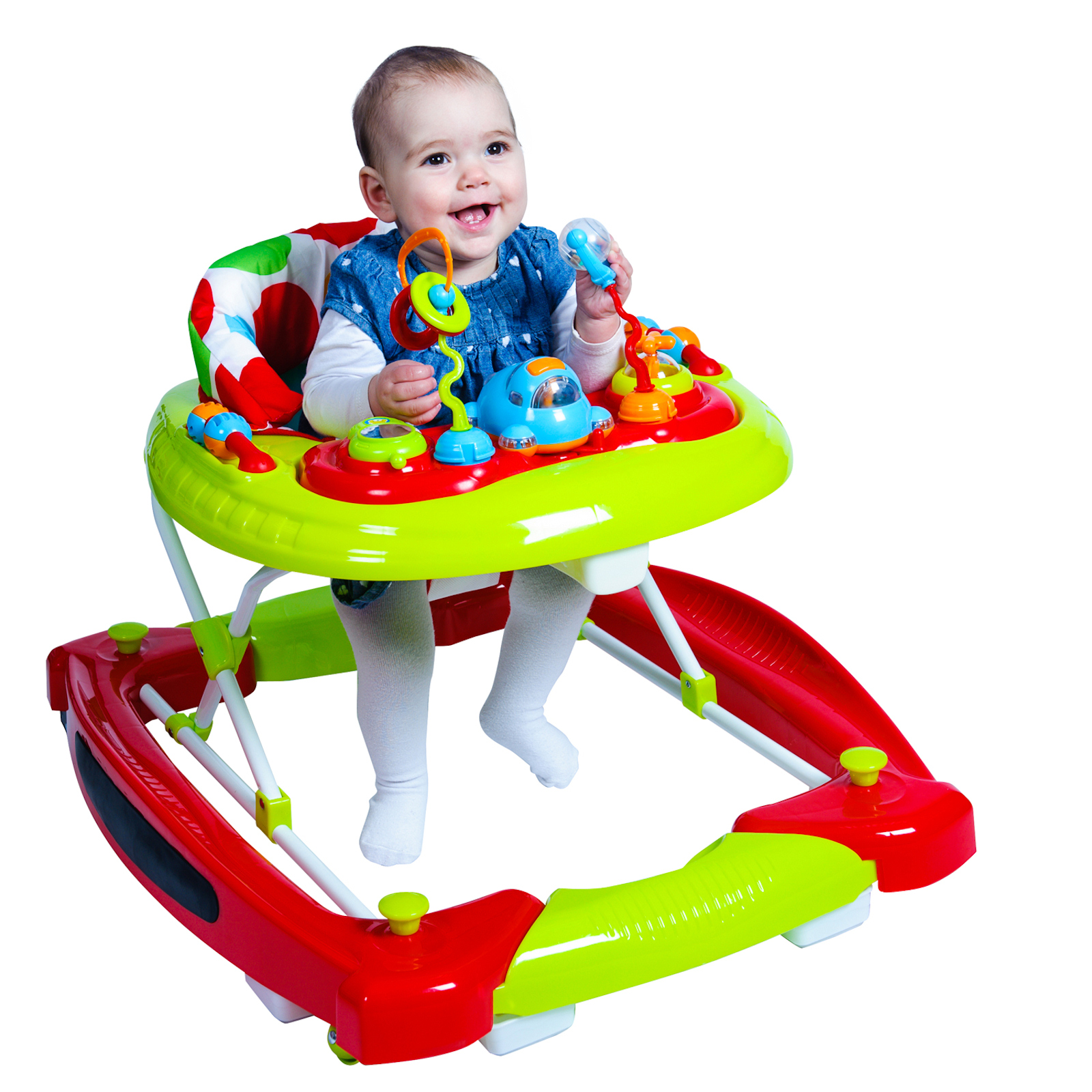 Red Kite Baby Go Round Twist Walker Rocker Spots