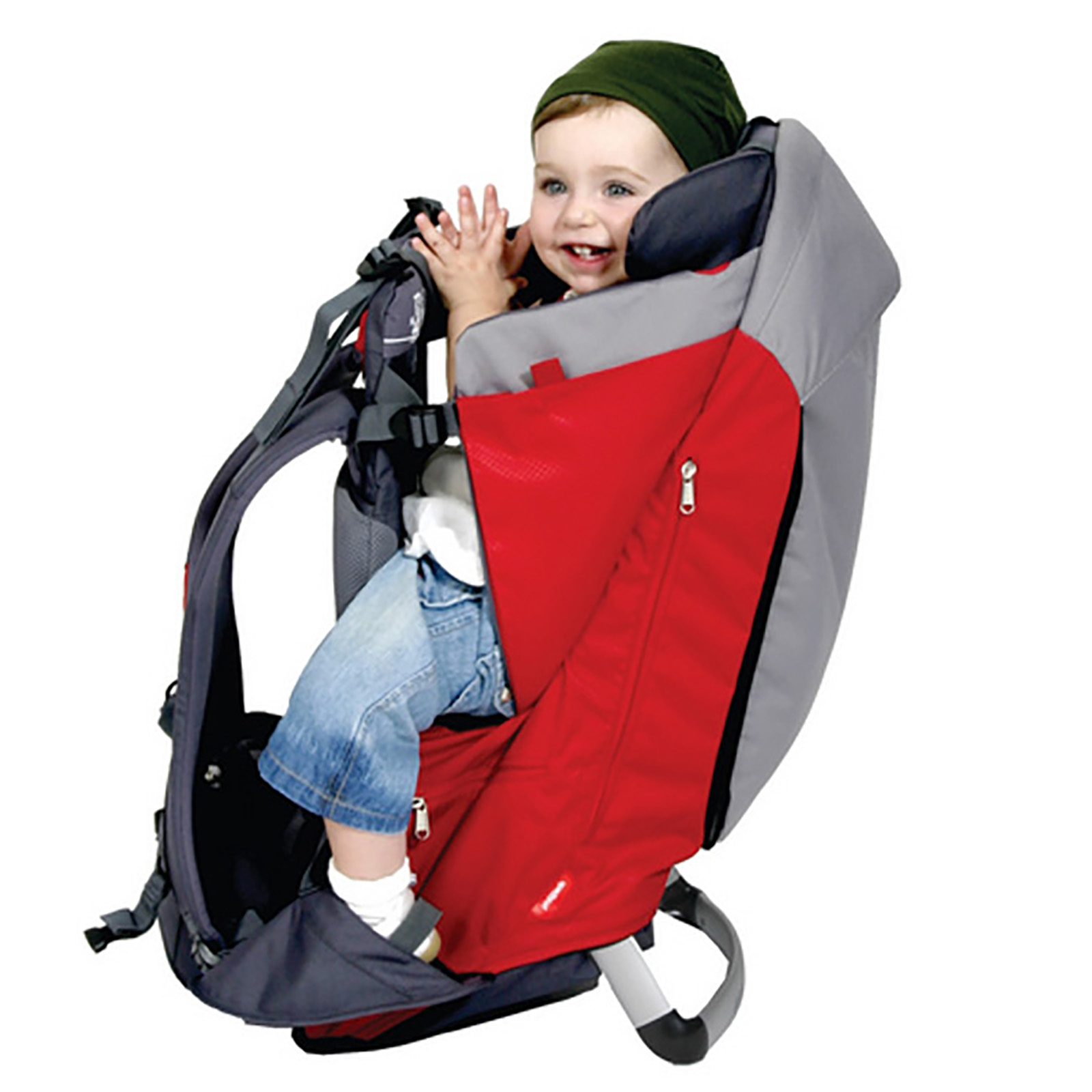 Phil & Teds Escape Baby Carrier Red