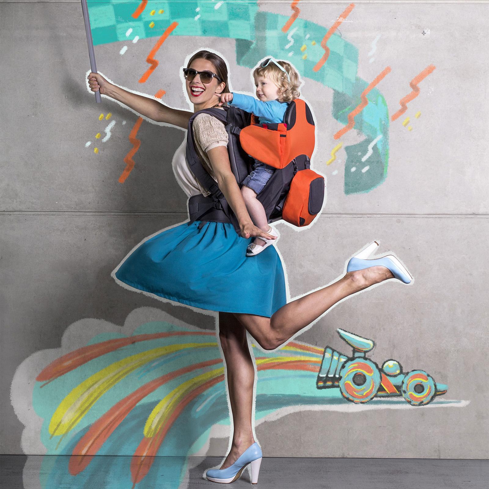 8c6a94deba6 ... Parade Baby Carrier - Orange   Grey · Phil   Teds · Watch Video