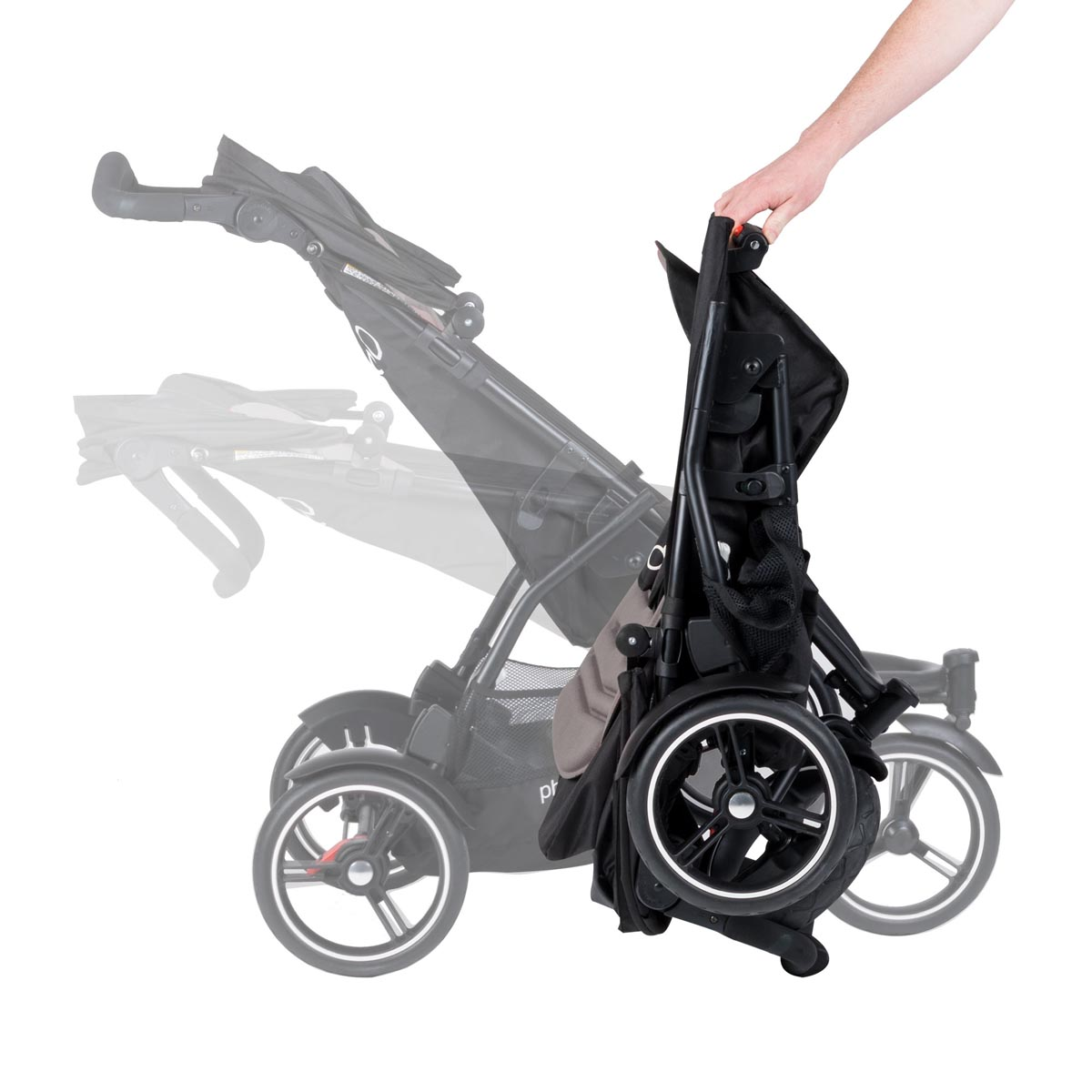 phil teds dot pushchair with double kit graphite buy at