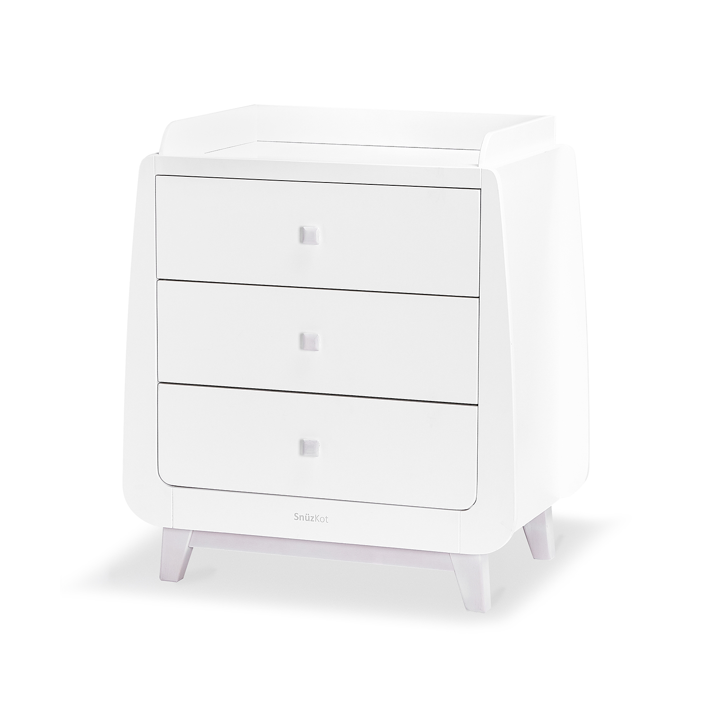 Id Np55645 Snuz Snuzkot Luxe 3 Piece Nursery Furniture Set Whitewash