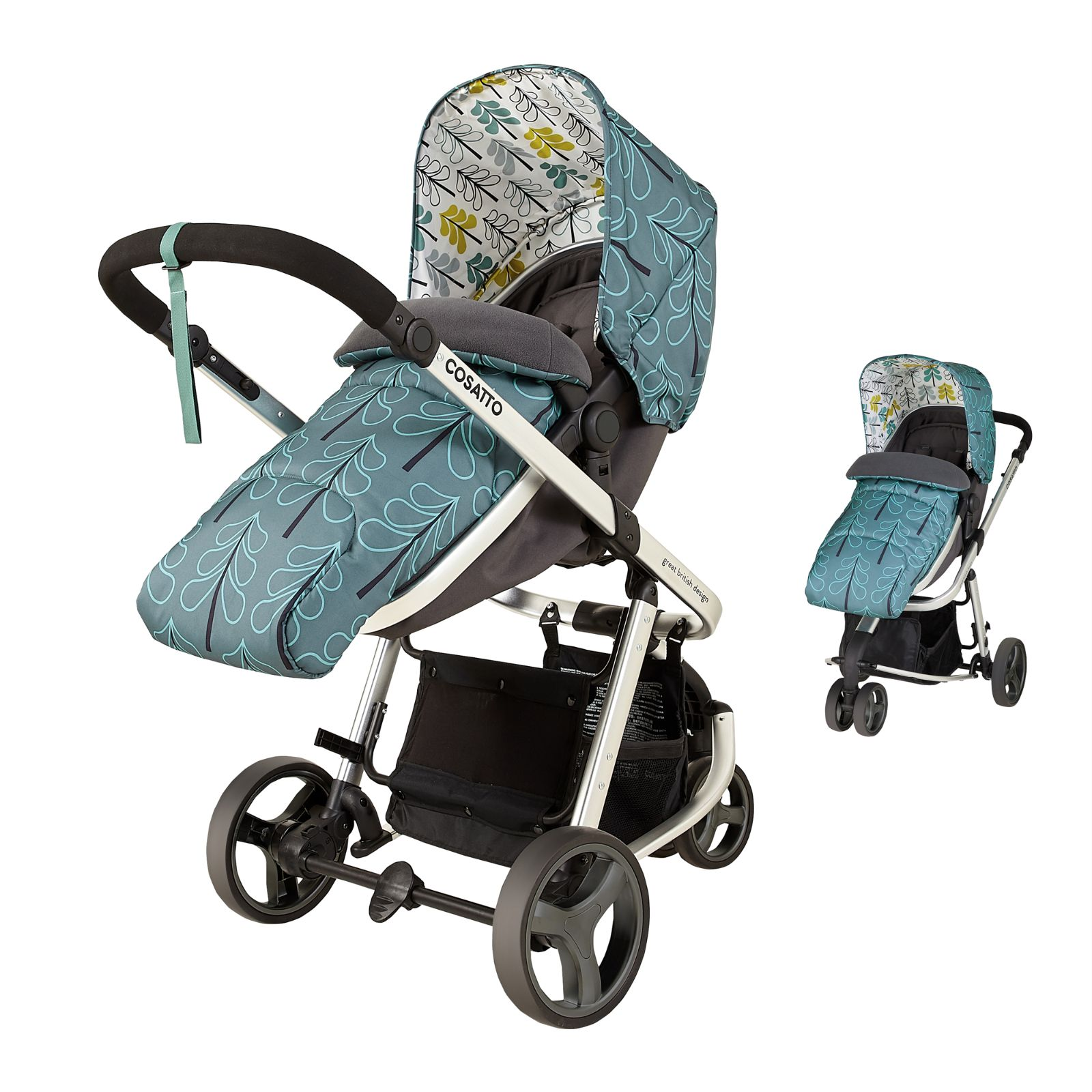 Cosatto Giggle Mix Pramette Travel System Fjord Buy At