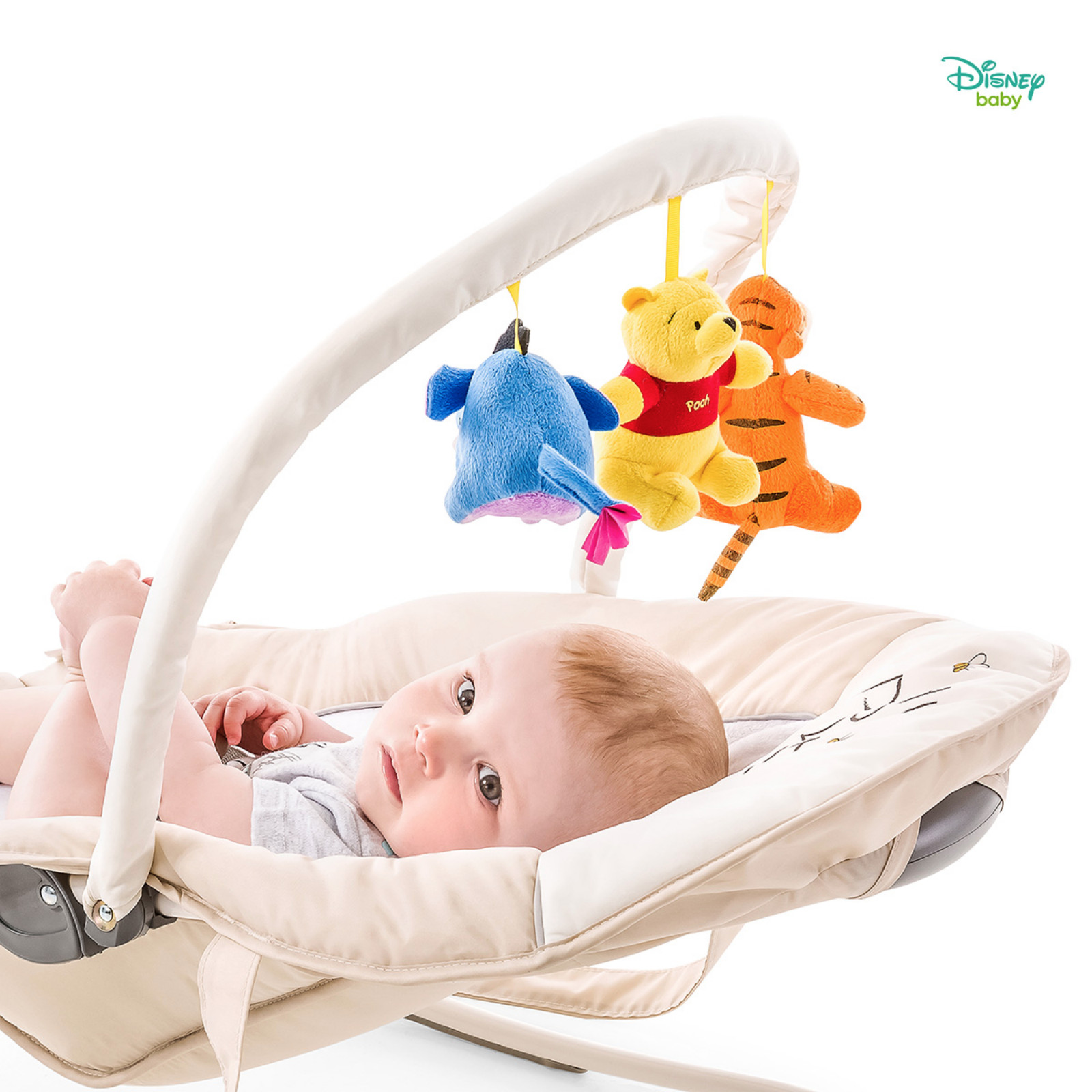3f8d7f93672f Hauck Disney Bungee Deluxe Bouncer - Pooh Cuddles