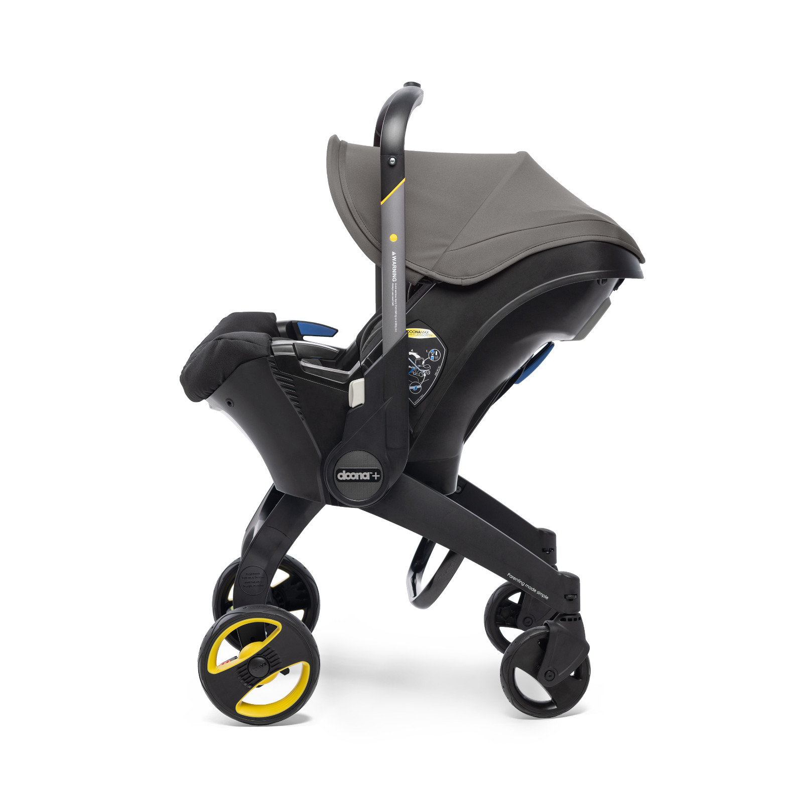 Doona Infant Car Seat / Stroller - Urban Grey   Buy at ...