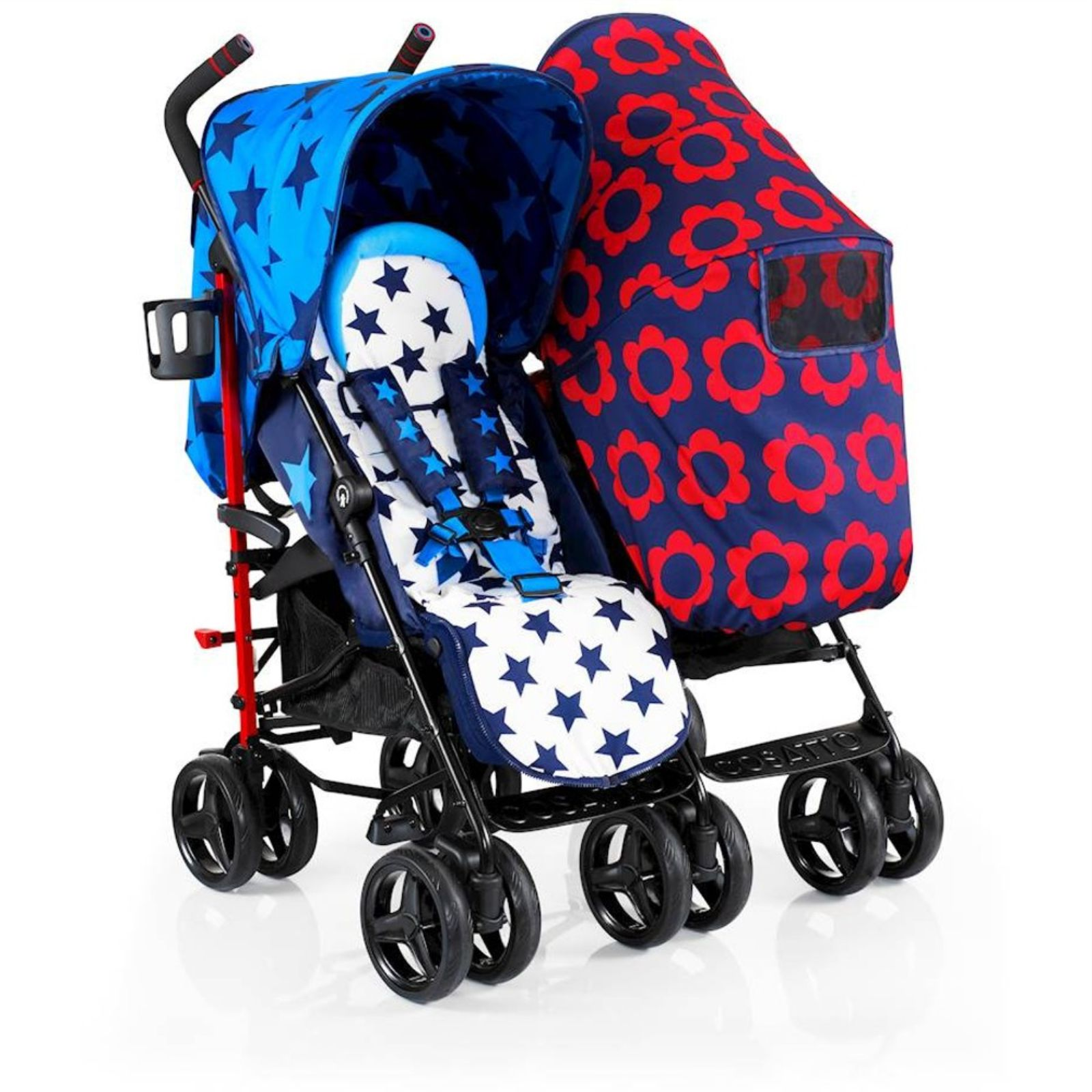New Cosatto Hotchpotch To Amp Fro Twin Stroller Double