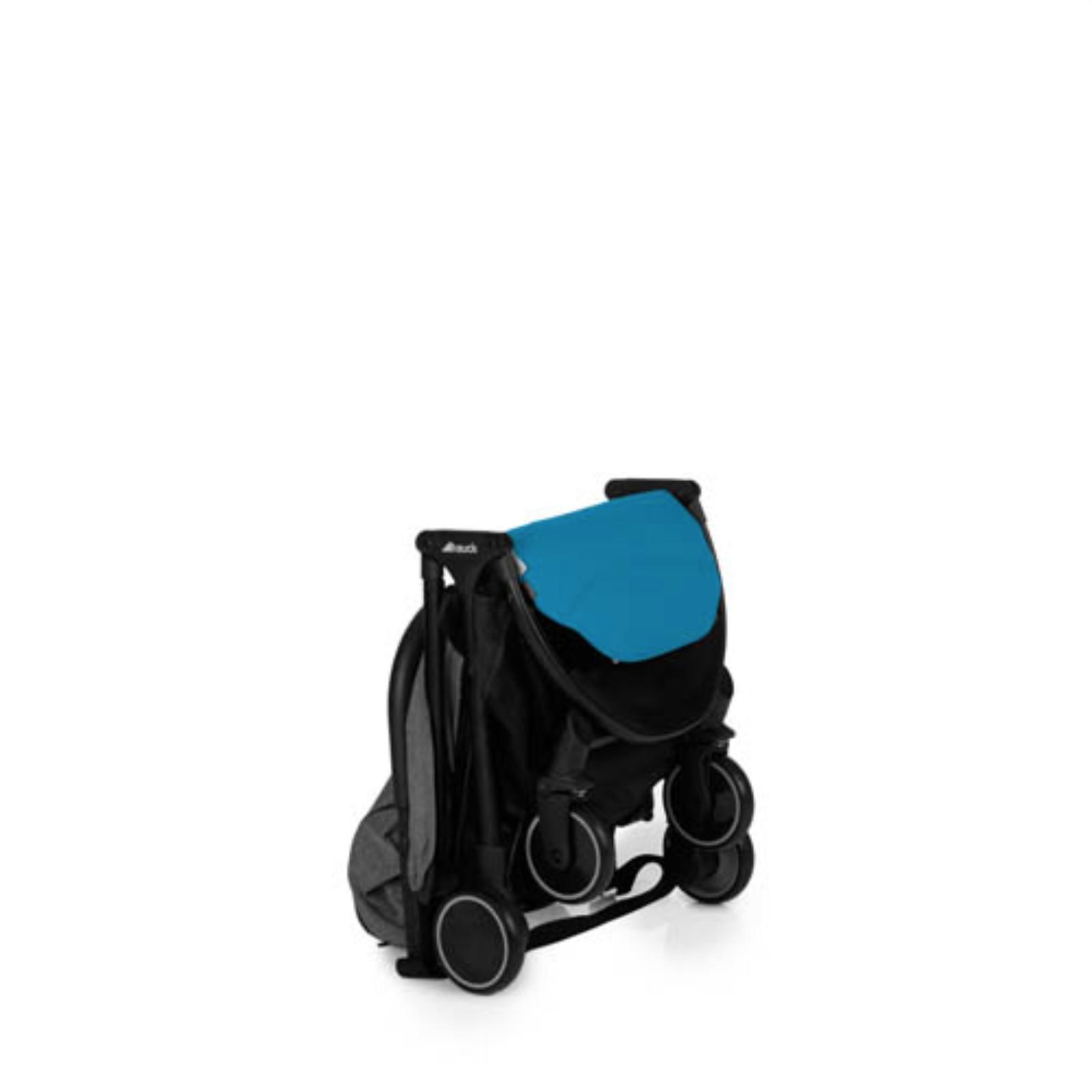Nursing Bags On Wheels >> HAUCK MELANGE GREY / AZURE SWIFT PUSHCHAIR STROLLER BABY ...