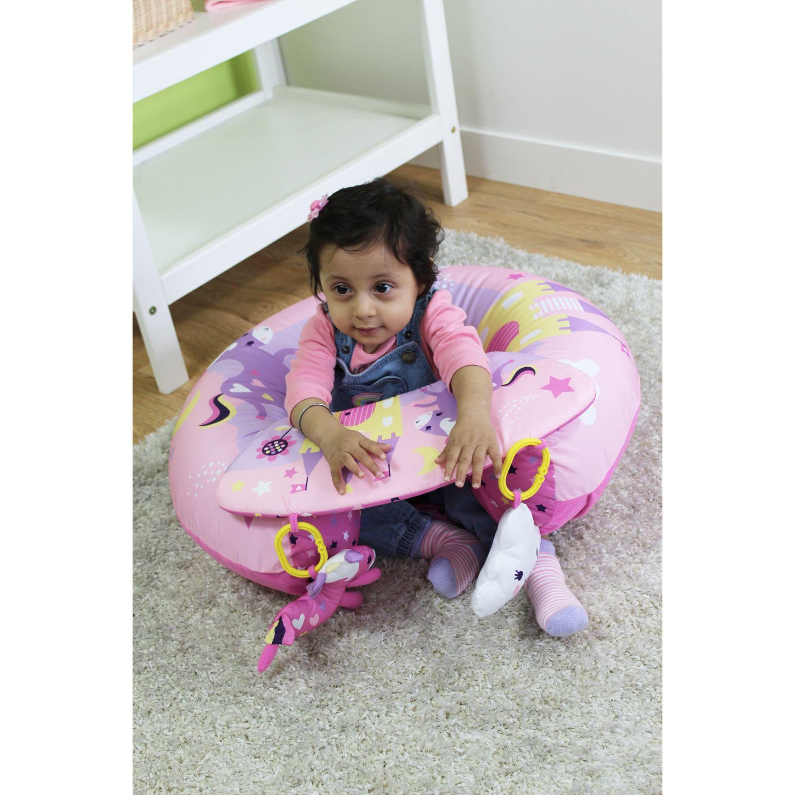 New Red Kite Pink Unicorn Sit Me Up Baby Playnest
