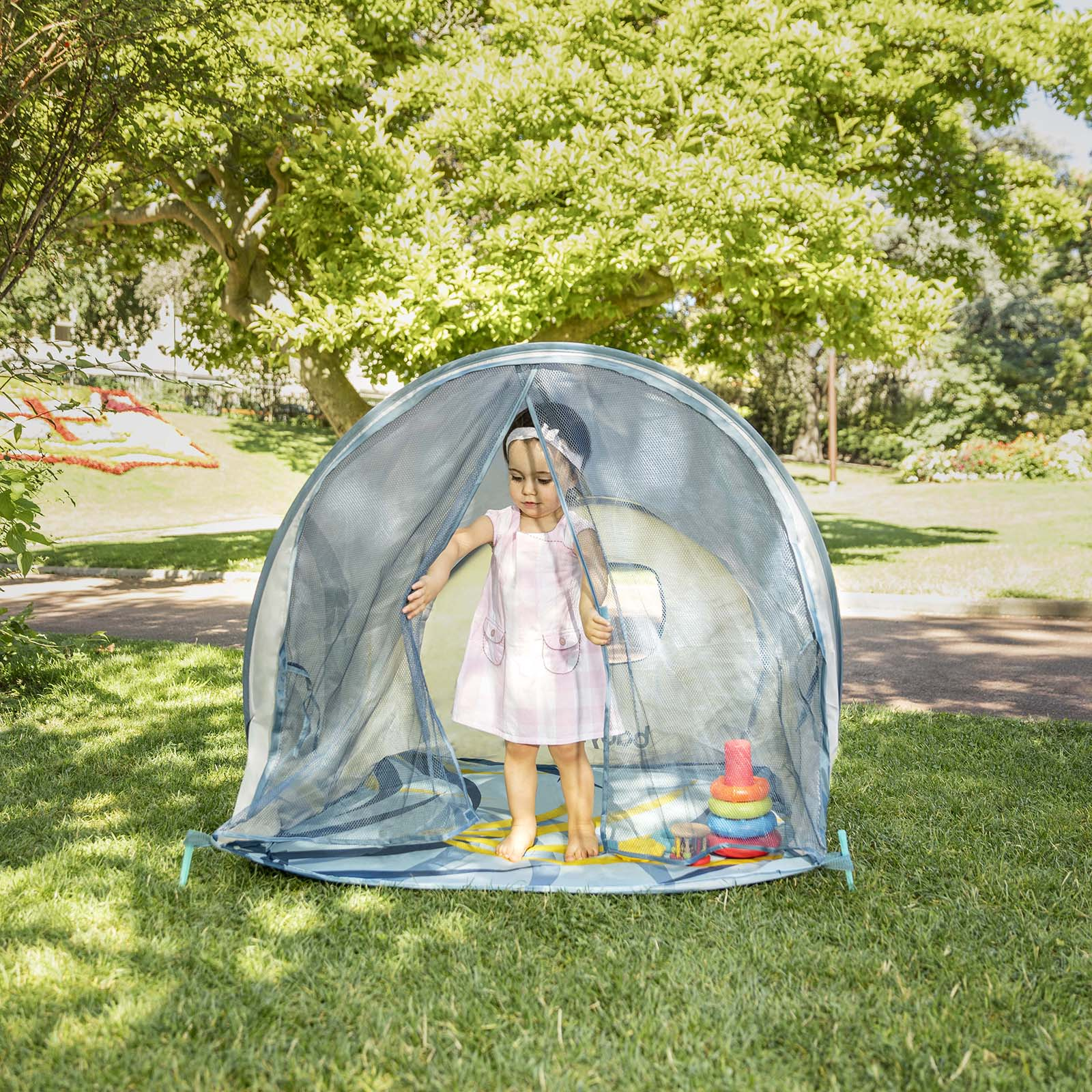 ID NP54401. Babymoov Anti UV Tent ...  sc 1 st  Online4baby & Babymoov Anti UV Tent - Tropical | Buy at Online4baby