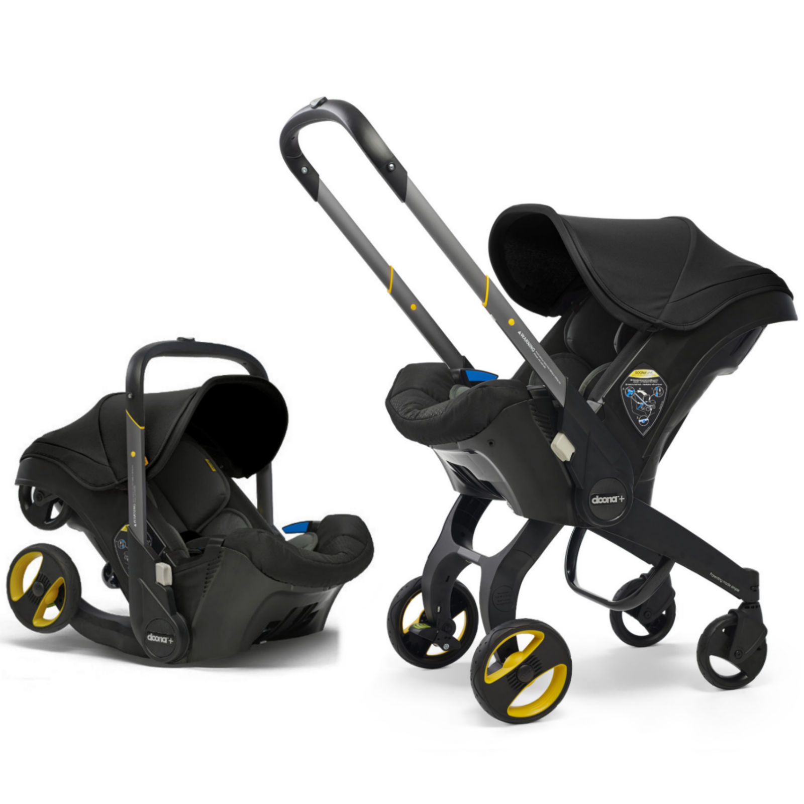 Doona Infant Car Seat / Stroller With ISOFIX Base & Free ...