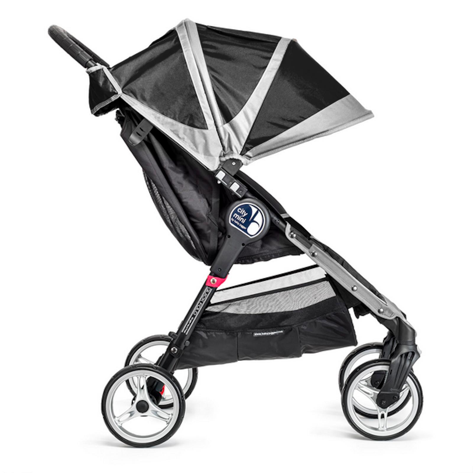New Baby Jogger City Mini 4 Wheel Single Stroller Black