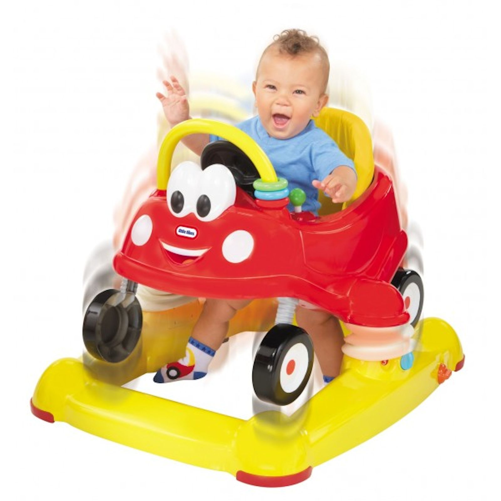 Little tikes 3in1 luxury cozy coupe musical walker for Little tikes 8 in 1