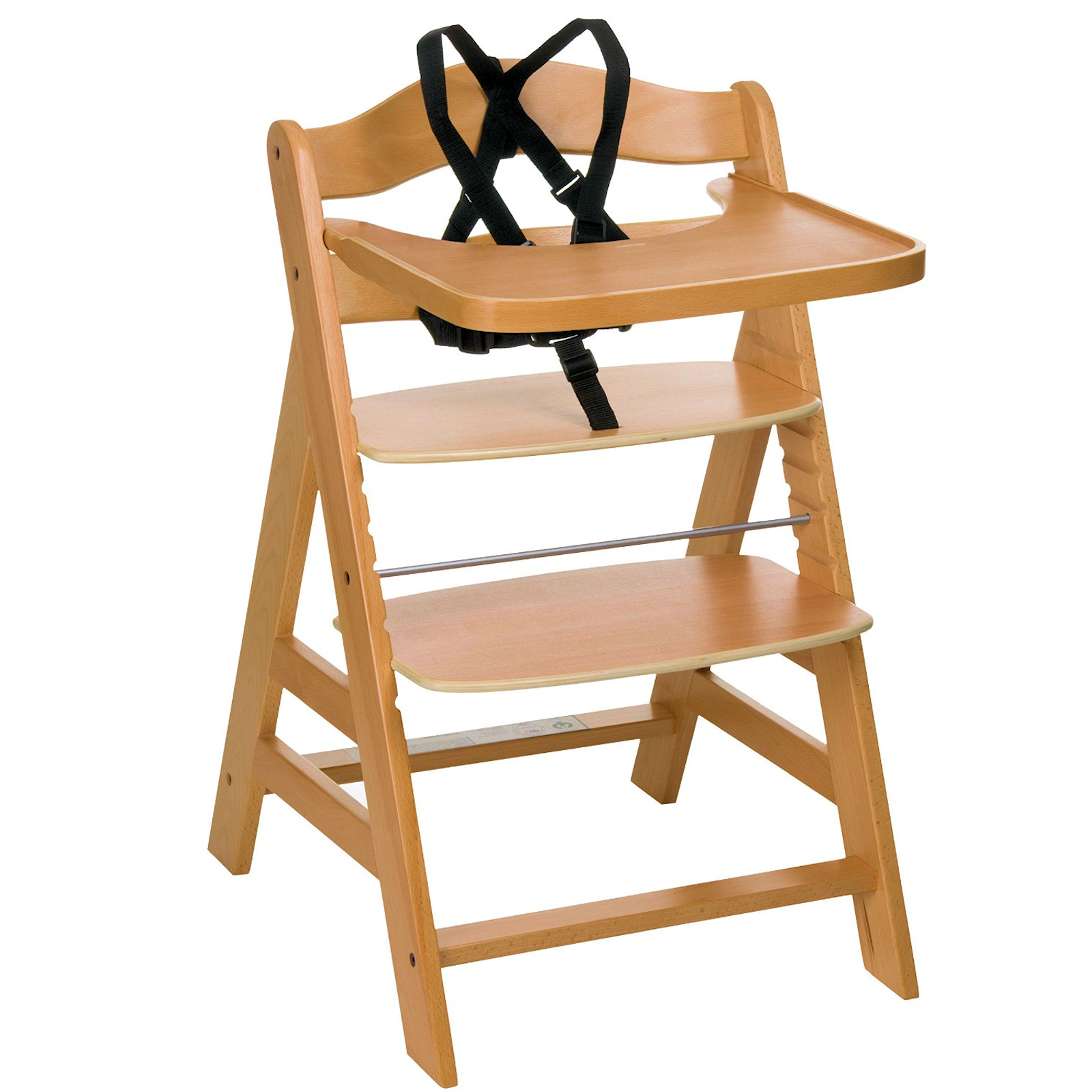 Hauck Gamma Grow With Your Child Wooden Highchair Natural