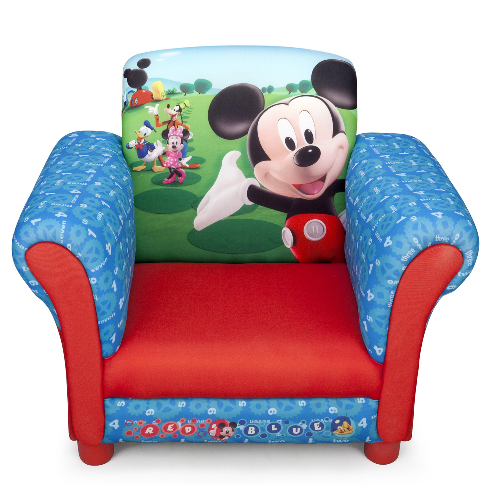New Delta Children Disney Mickey Mouse Upholstered Chair