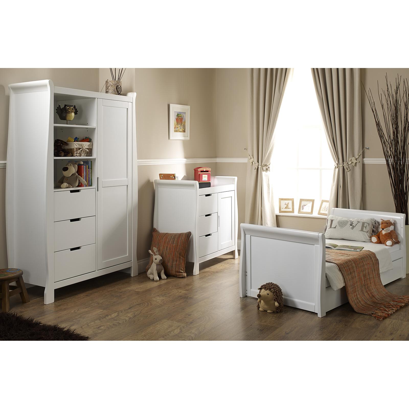Sleigh Beds At Argos : Obaby stamford sleigh piece room set white buy at