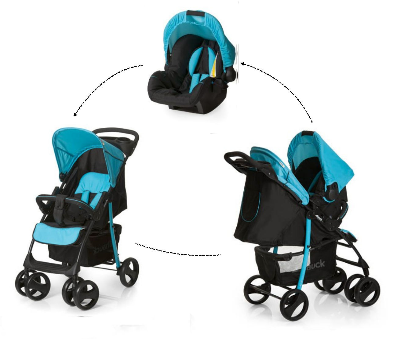 new hauck shopper slx shop n drive travel system. Black Bedroom Furniture Sets. Home Design Ideas