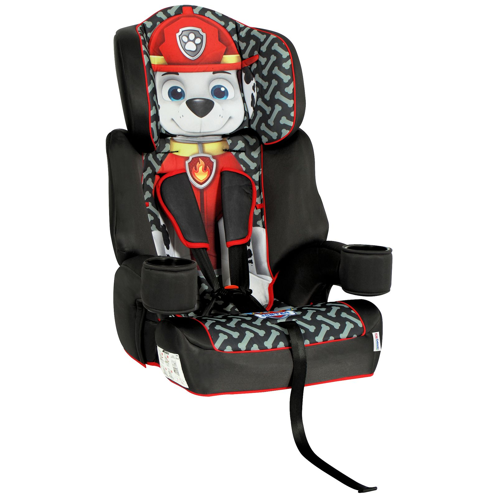 Kids Emce Group 1,2,3 Booster Car Seat - Paw Patrol (Marshall ...