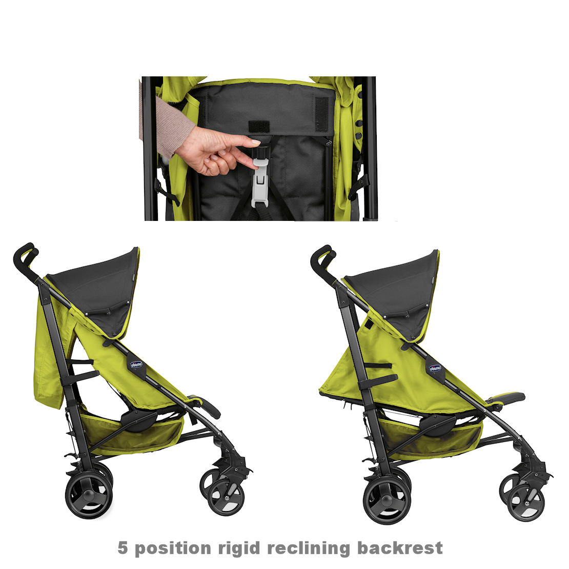 chicco deluxe liteway stroller buggy green wave buy at online4baby. Black Bedroom Furniture Sets. Home Design Ideas