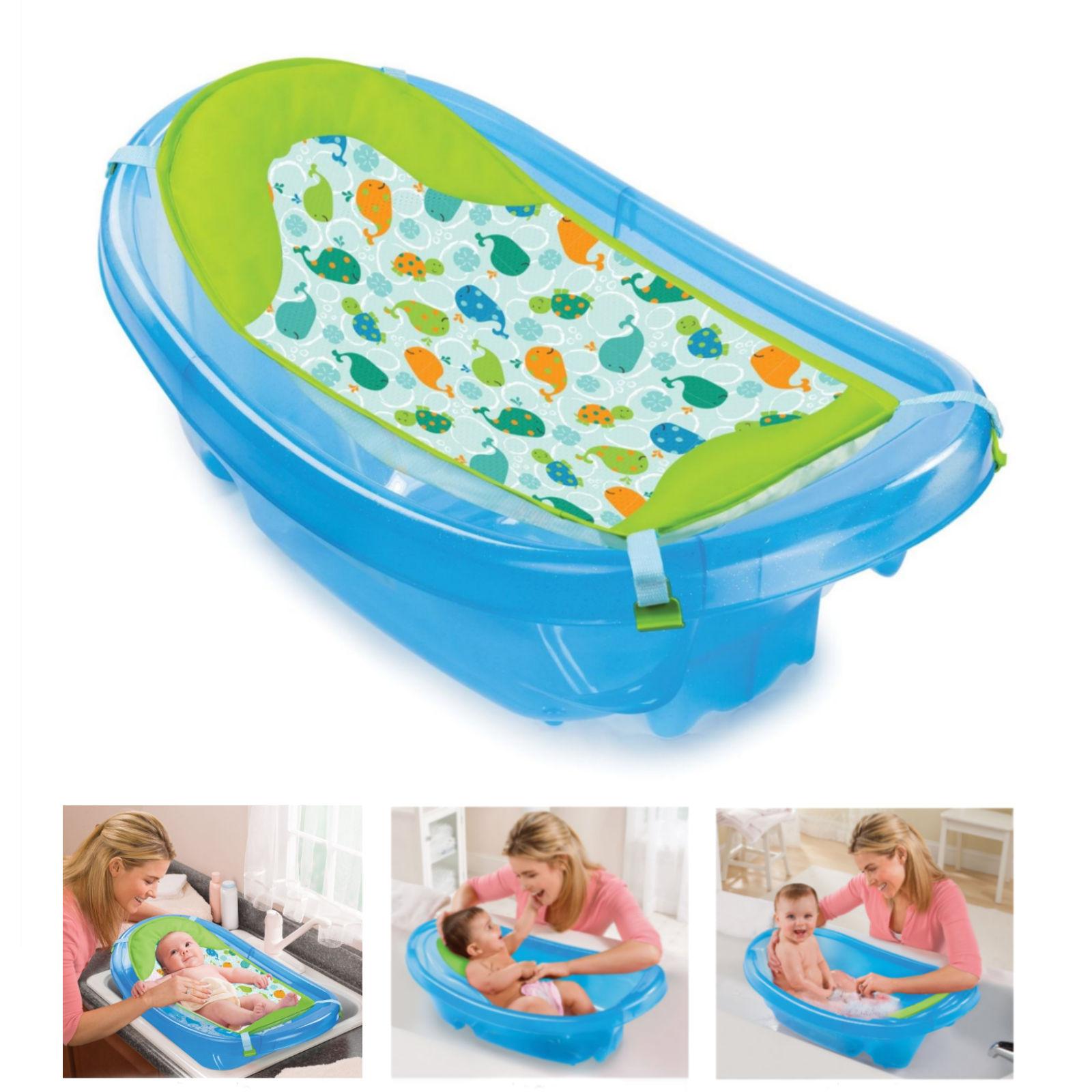 Summer Infant Sparkle \'n Splash Bath Tub - Blue   Buy at Online4baby