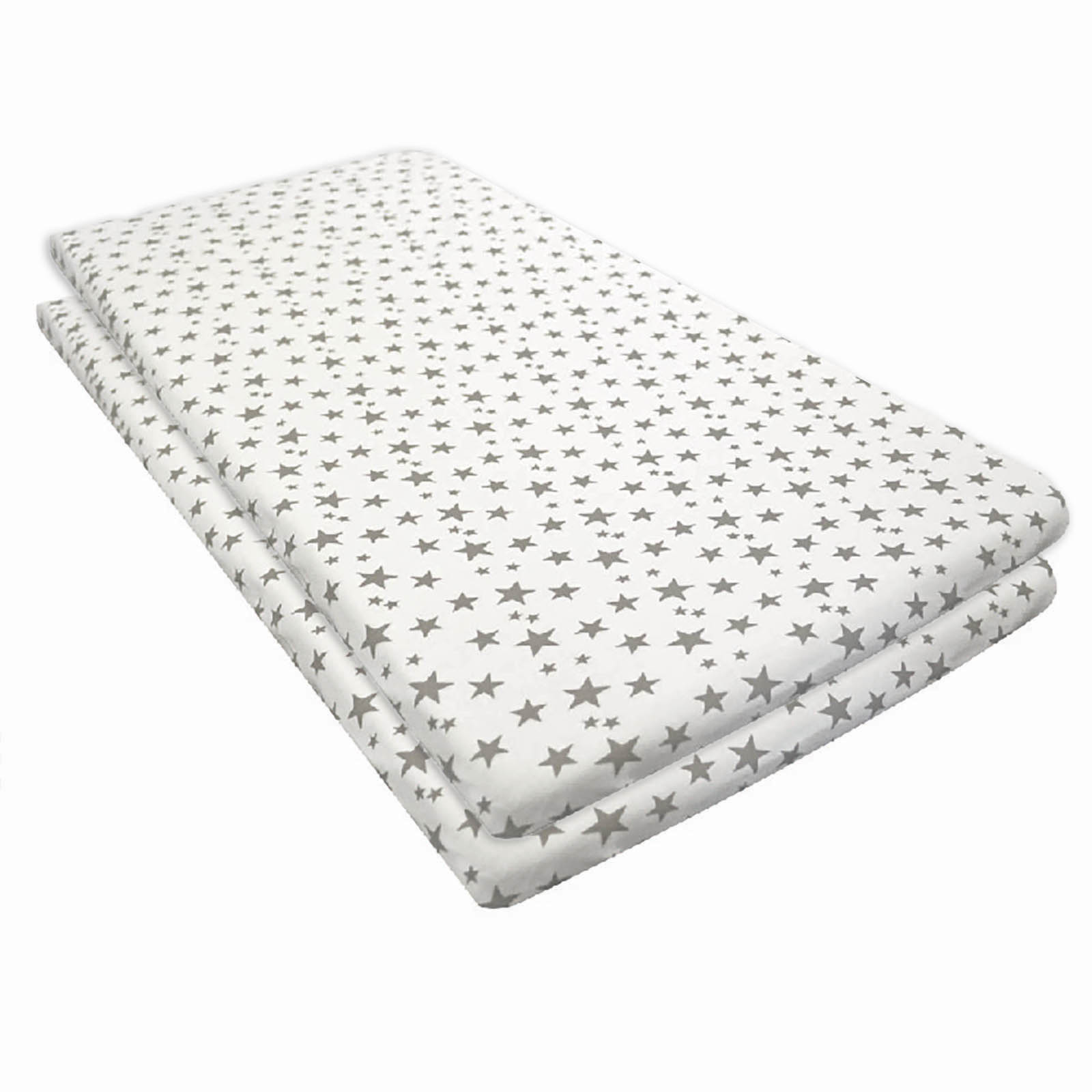 4baby Chicco Next 2 Me Lullago Crib Fitted Sheet Pack