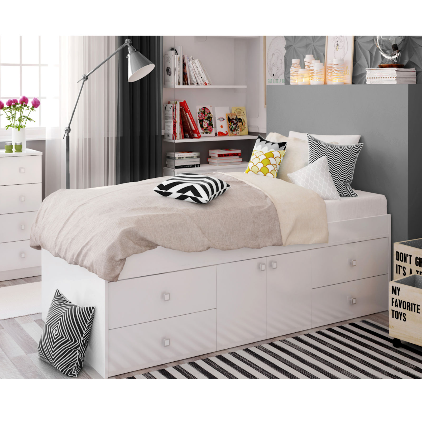 rug pink toddler drawers girls white bedroom for drawer bed crib luxury flowers with stickers small wall cabinet