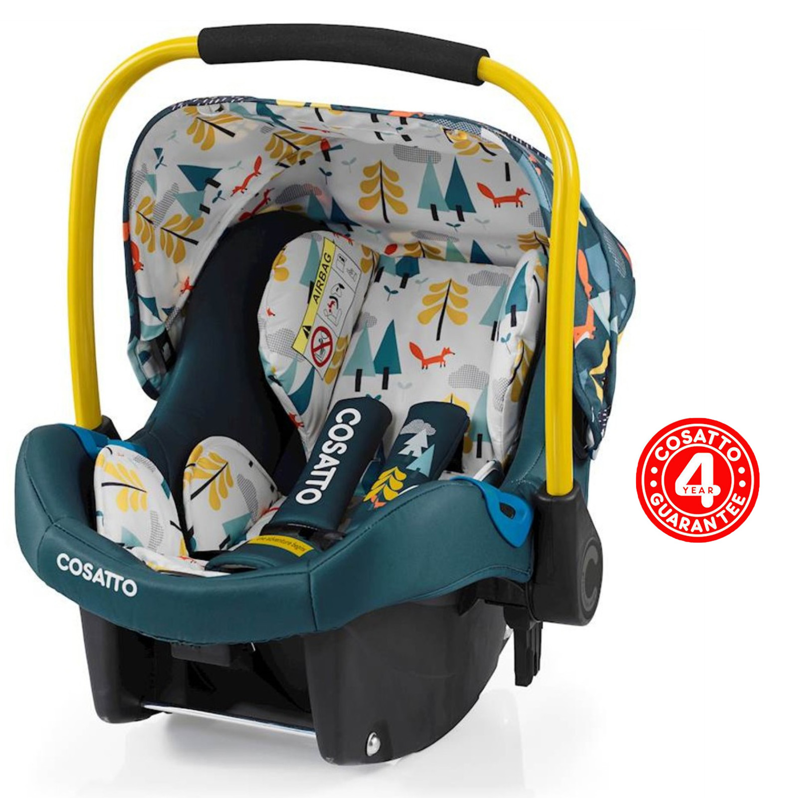 Cosatto Port Group 0+ Car Seat - Fox Tale   Buy at Online4baby