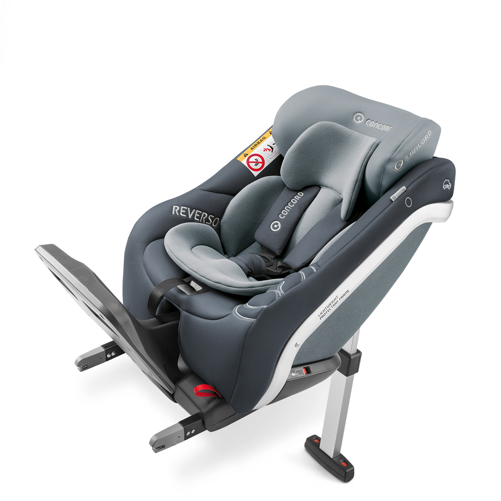 Concord Reverso Plus i-Size Car Seat - Steel Grey | Buy at Online4baby