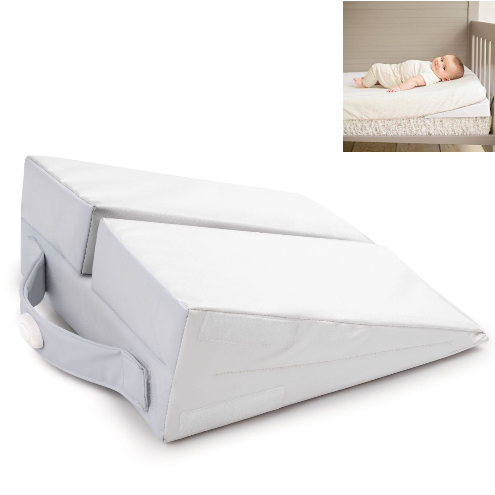 summer infant good vibes cot wedge toddler bed baby pillow. Black Bedroom Furniture Sets. Home Design Ideas