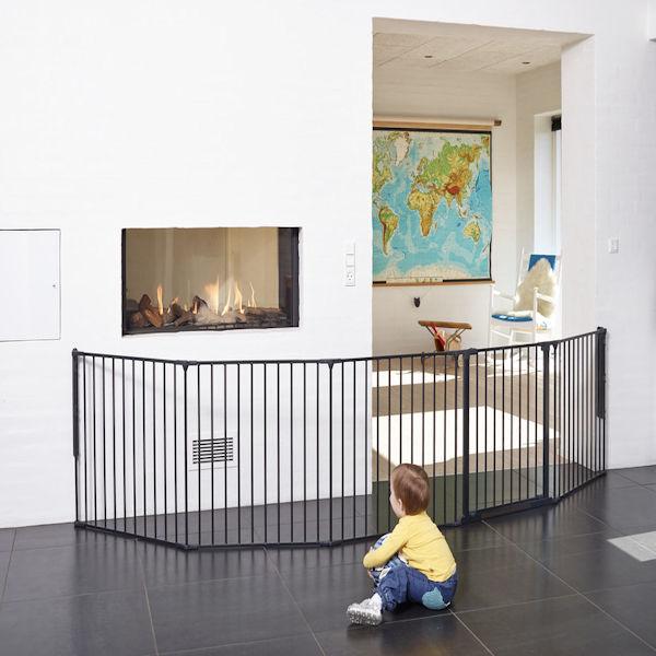 Babydan XXL Room Divider Configure Gate Black 90 360cm Buy