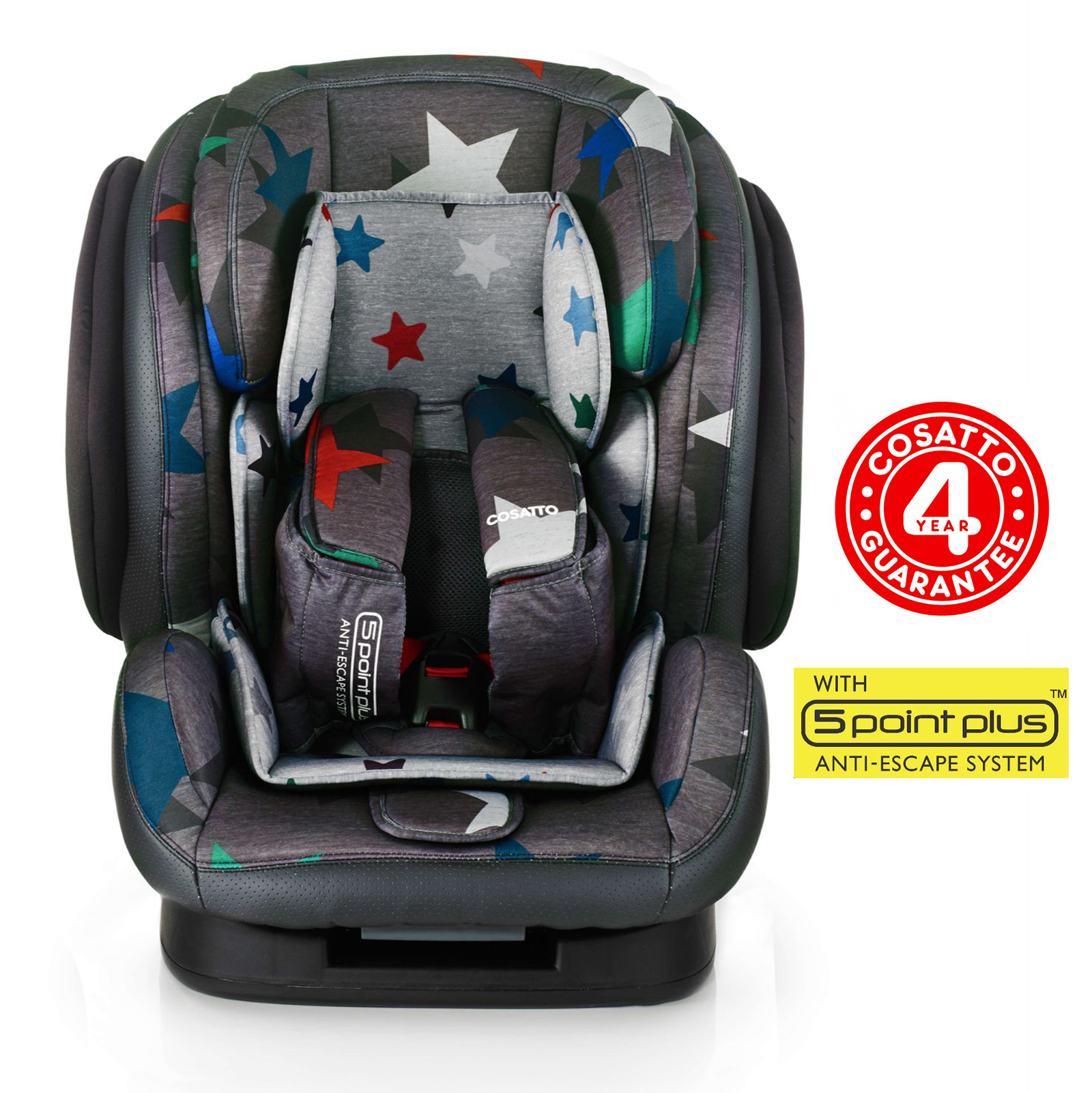 Cosatto Hug Group 123 Recline Car Seat - Grey Megastars  sc 1 th 225 & Cosatto Hug Group 123 Recline Car Seat - Grey Megastars | Buy at ... islam-shia.org