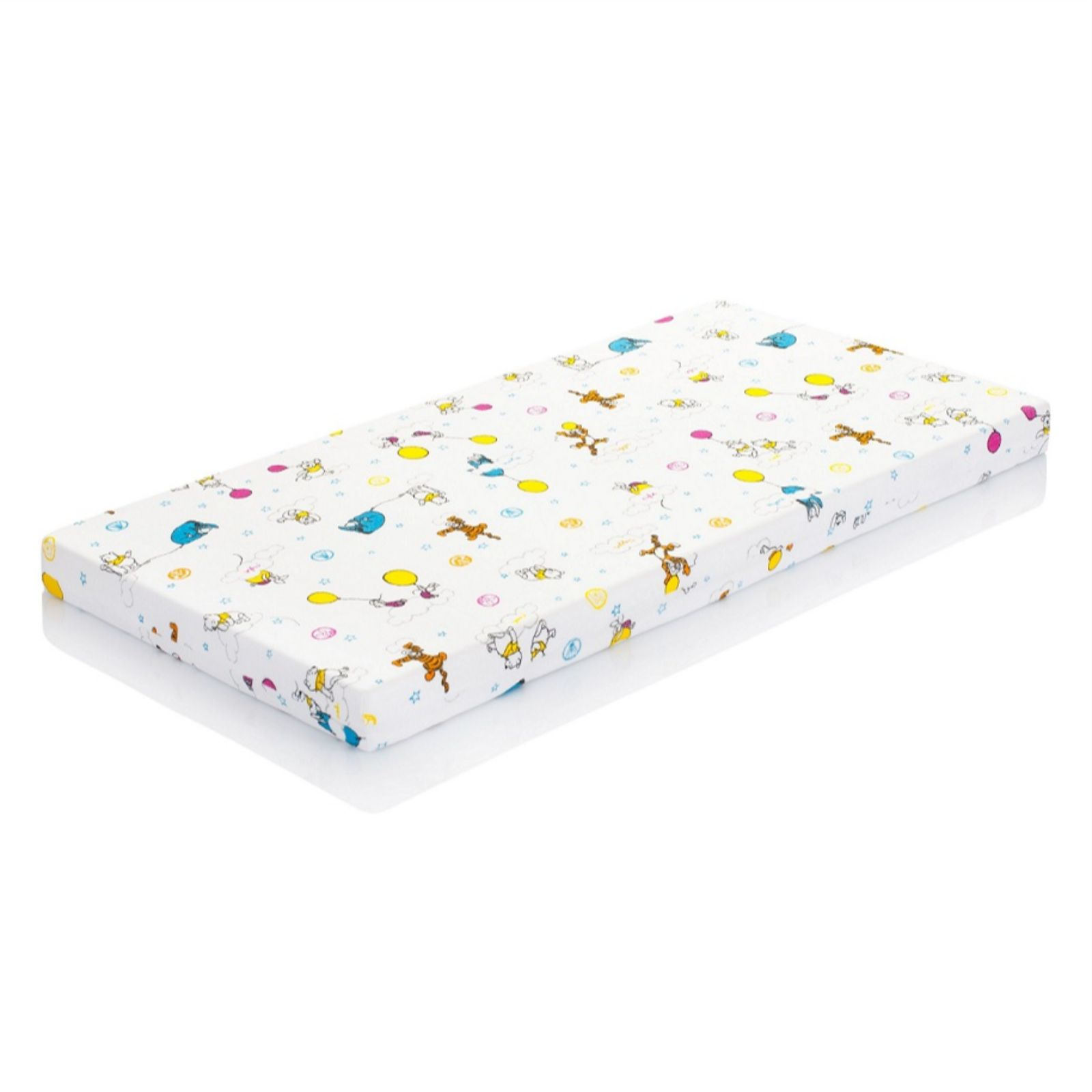 Superbe Hevea Cot Bed Fitted Sheet   Disney Winnie The Pooh