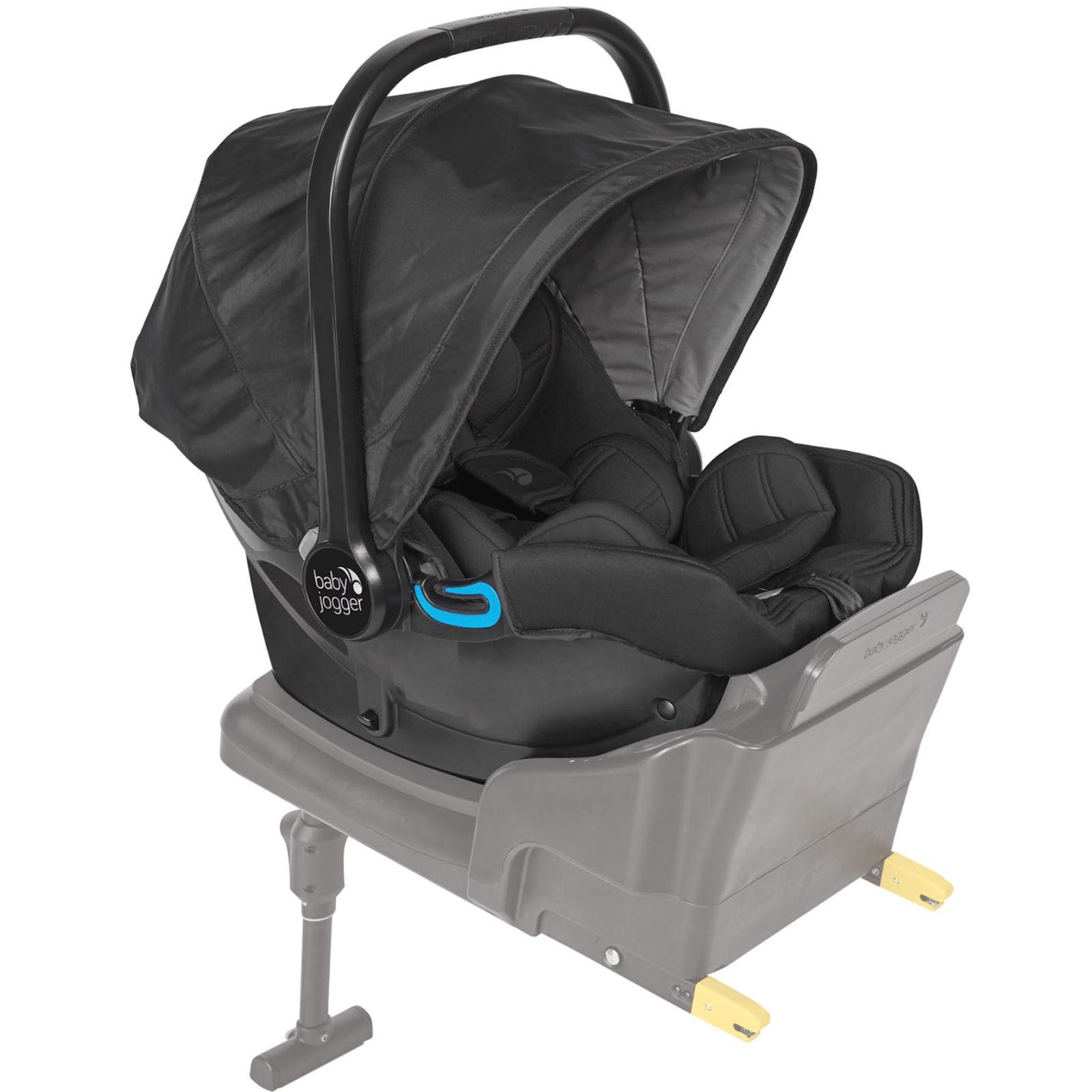 baby jogger city go group 0 i size infant car seat black buy at online4baby. Black Bedroom Furniture Sets. Home Design Ideas