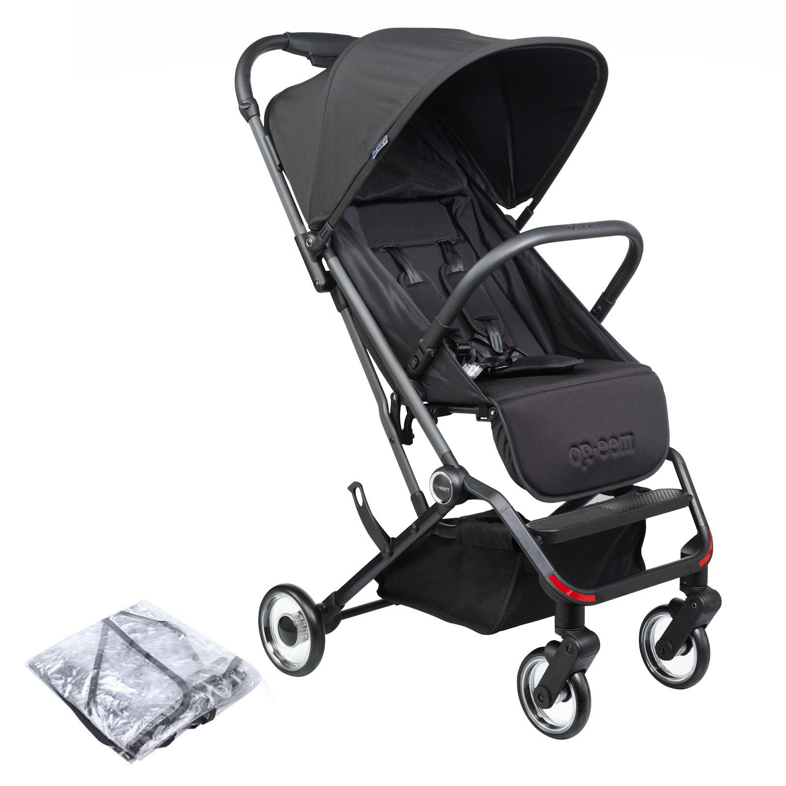 Mee-Go Trio Plus Pushchair Stroller - Jet